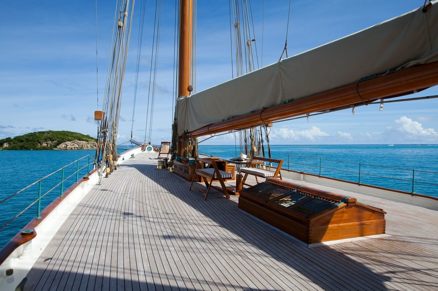 ELENA Yacht Charter Details Herreshoff CHARTERWORLD